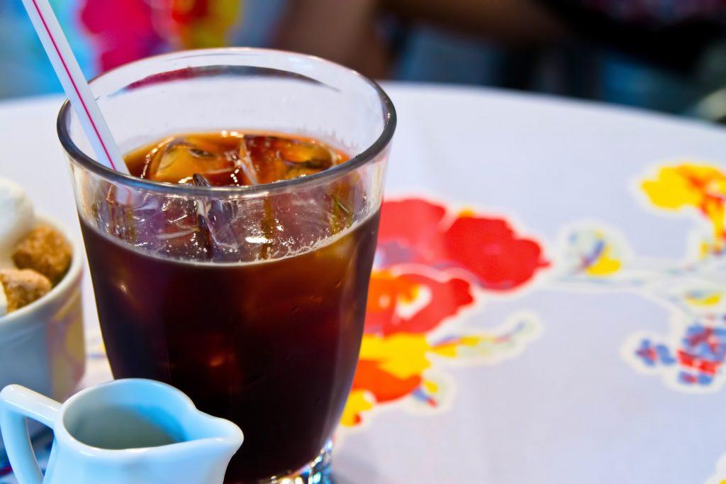 冷たい飲み物